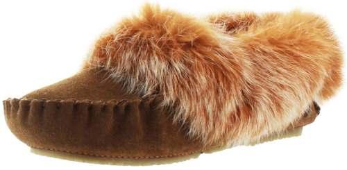 Bearpaw Women's Kacey Sheepskin Slip On Slippers