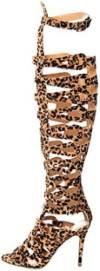 Breckelle's Women's Diva-31 Gladiator High Heel Sandal Thumb