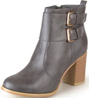 Brinley Co. Womens Buckle Heeled Bootie Review