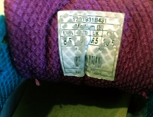 Brooks Womens Ghost 8 Sneakers Navy-Purple-Blue