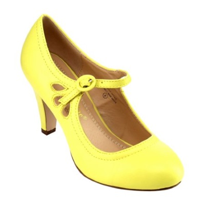 Chase & Chloe Kimmy-21 Mary Jane Dress Pump Review