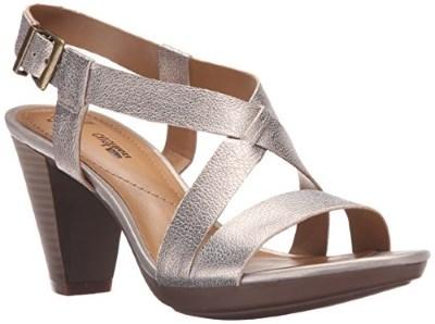 Clarks Women's Jaelyn Fog Dress Sandal Review