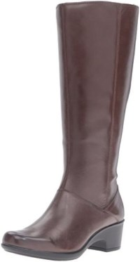 Clarks Women's Malia Skylar Wide Shaft Riding Boot Review