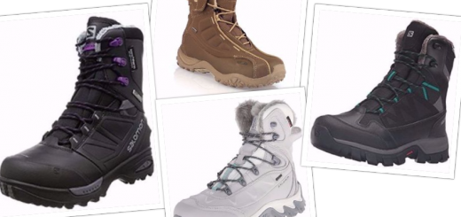 Collage Top 4 Salomon-Women Boots for Cold Winter
