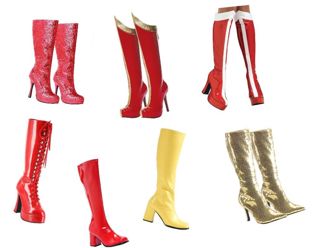 Costumecraze boots Collage