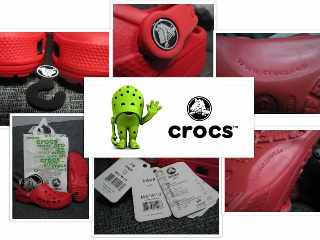 Crocs original features collage