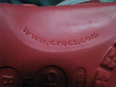 Crocs website