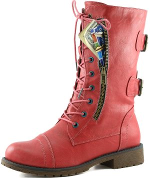 DailyShoes Military Combat Boot