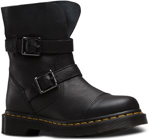 Dr. Martens Women's Kristy in Black Virginia Leather Fashion Boot Review