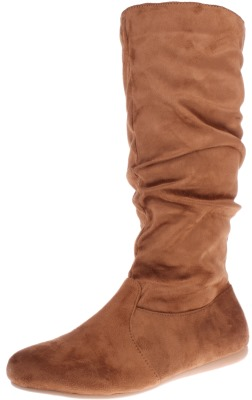 Enimay Women's Winter High Mid Calf Slouchy Flat Casual Dress Boot Review