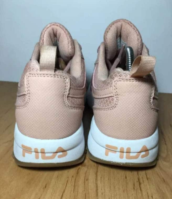 Fake Back Logo Disruptor Fila