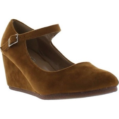 Forever Link Patricia-05 Mary Jane Suede Wedge Pump Review