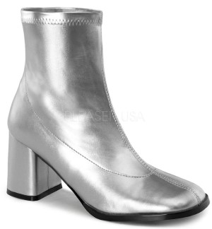 silver boot