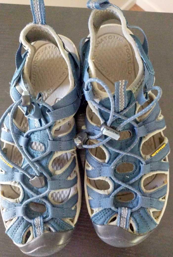 KEEN Whisper Sandals For Women Blue
