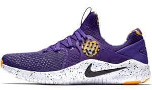 LSU Tigers Nike Free TR V8