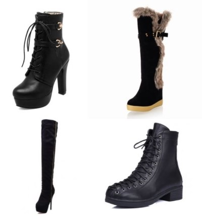 boots 4 different models