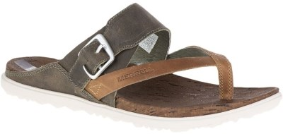 Merrell Women's Around Town Thong Buckle Print Sandal Review