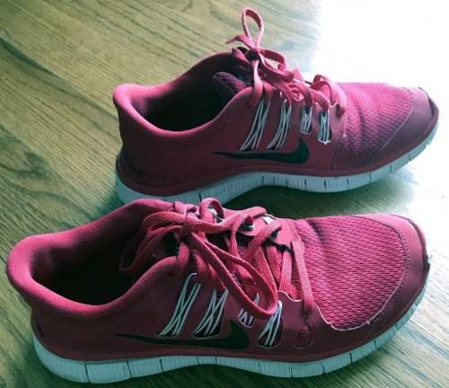 Nike Free 5.0 red