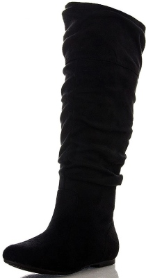 Room Of Fashion Women's Soft Vegan Slouchy High Boot Review