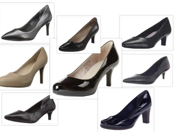 Rockport Dress Pump collage