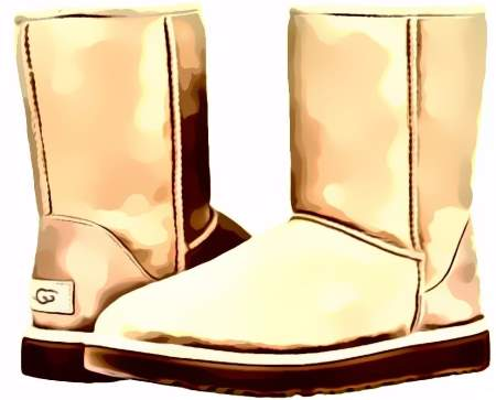 shearling style boots