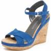 Stuart Weitzman Women's Minky Wedge Sandal Thumb
