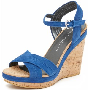 Stuart Weitzman Women's Minky Wedge Sandal Review