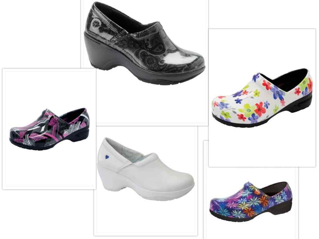 Tafford nursing shoes collage