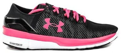 under armour pink white sneaker