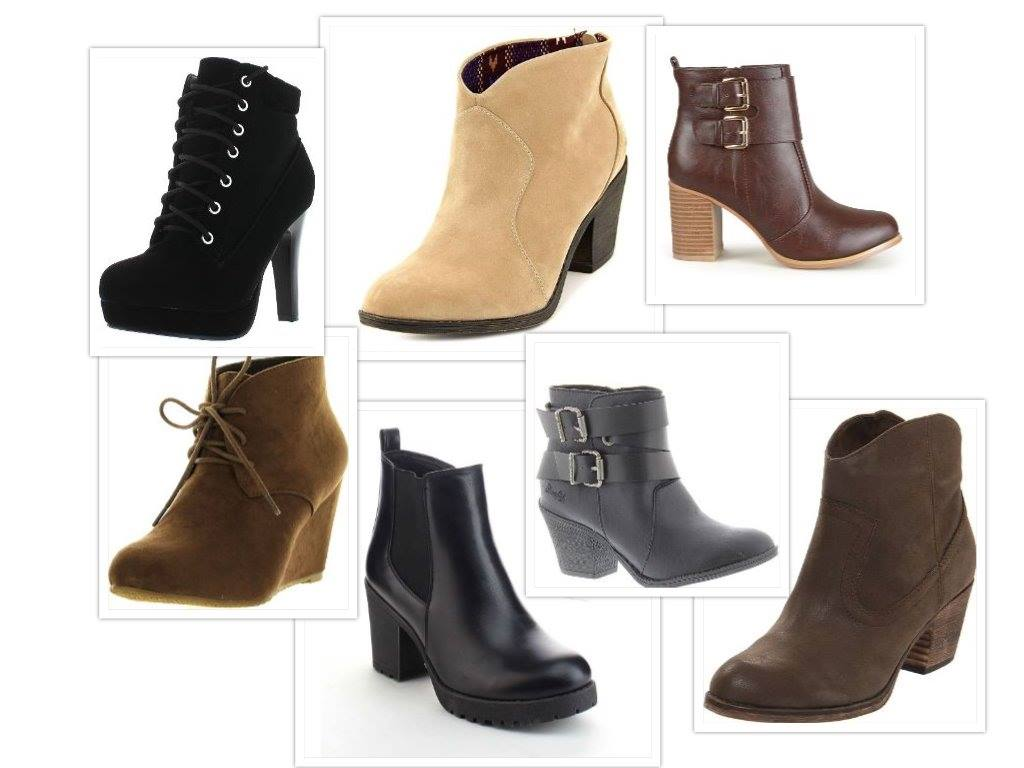 ankle boots for short legs collage