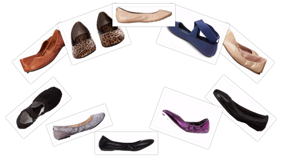 Best Ballet Flat Collage