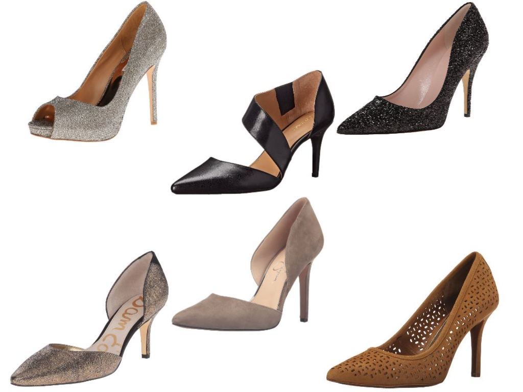 Best Designer Pumps for Work 2017 Collage