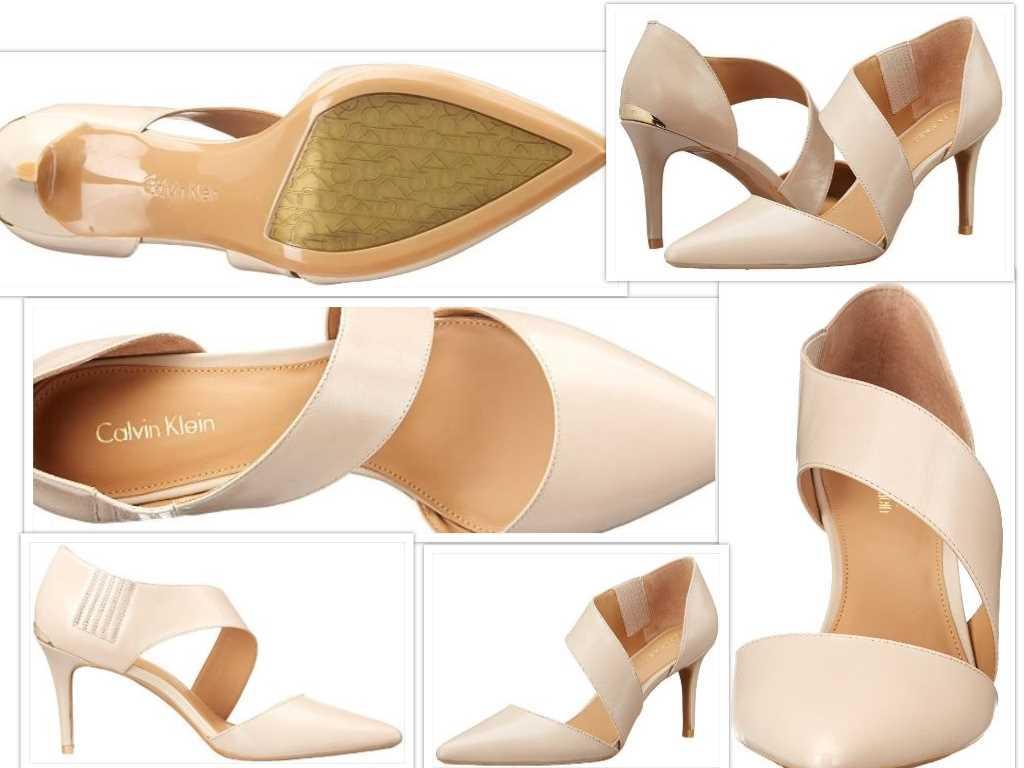 calvin klein womens gella dress pump collage