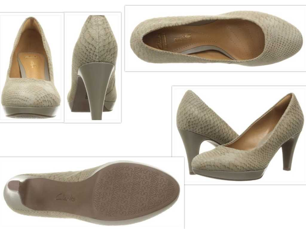 clarks womens brier dolly dress pump collage