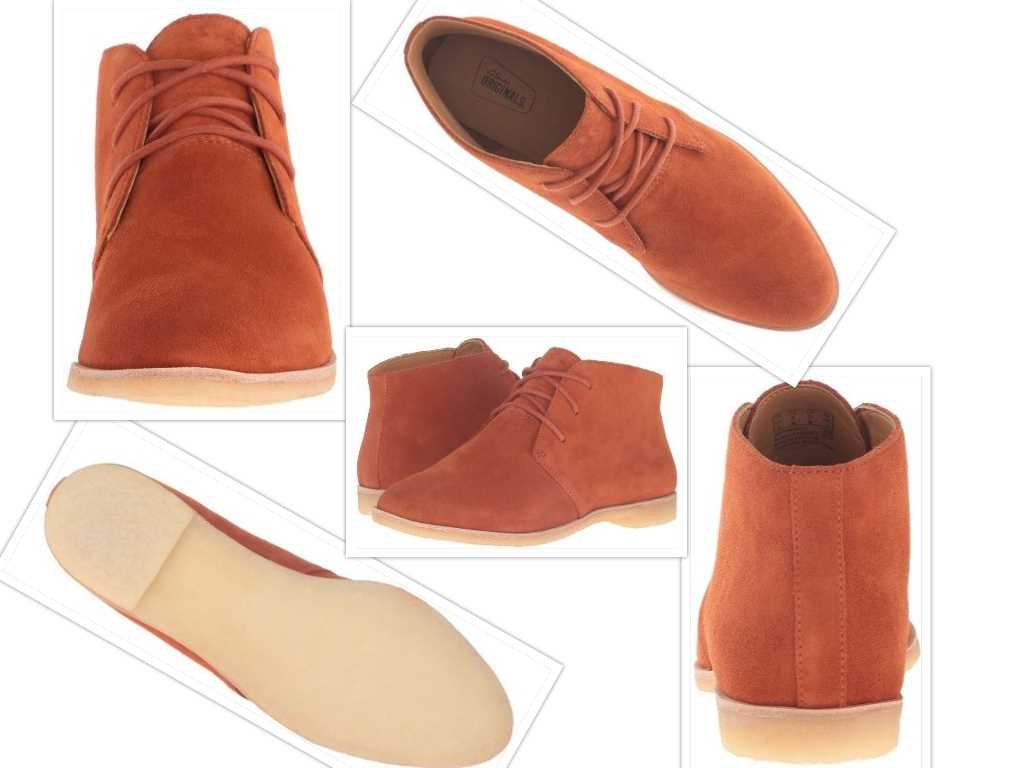 clarks womens phenia desert boot collage