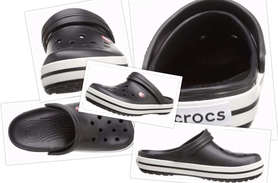 collage Crocs Unisex Crocband Clog