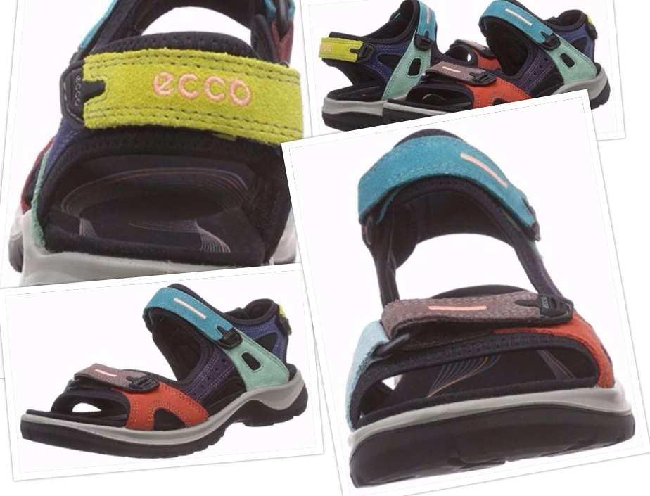 collage ecco anniversary yucatan sport sandal