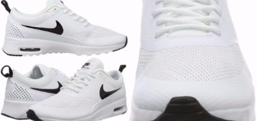 collage nike womens white air max thea shoe