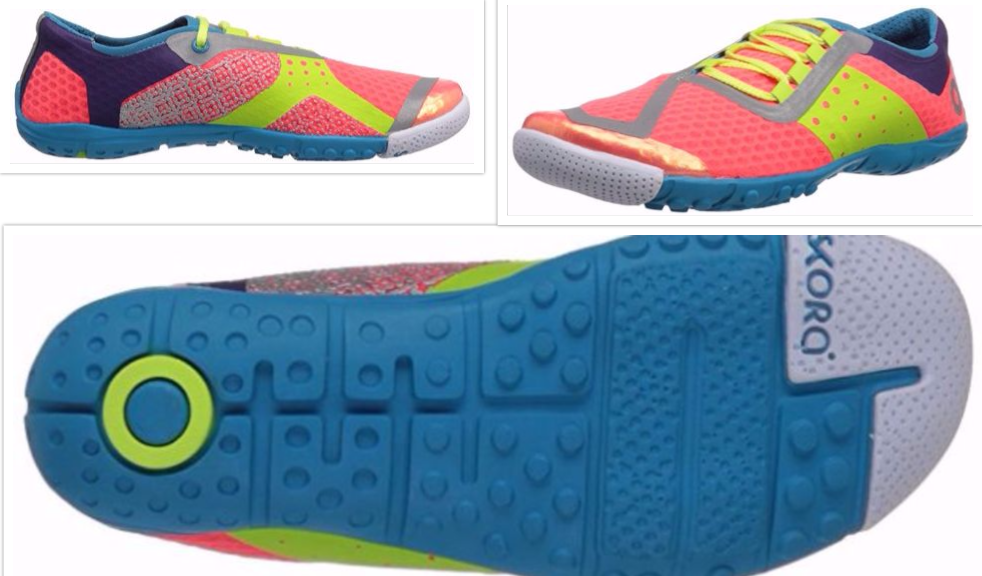 collage skora running shoes