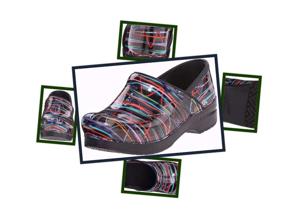 dansko women clogs collage