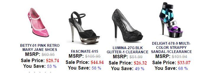 shoes with sale