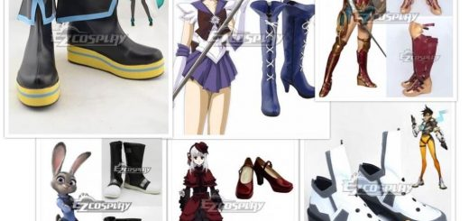 Ezcosplay shoes collage