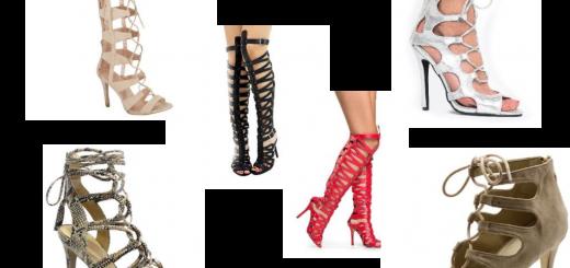 Gladiator Sandals Collage