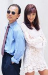 Jimmy Choo and Tamara Mellon