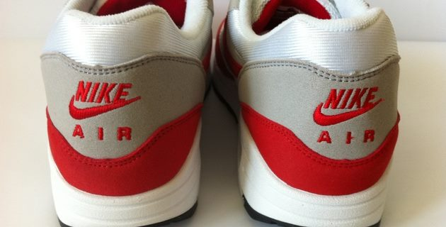 nike fake logo on the sneaker