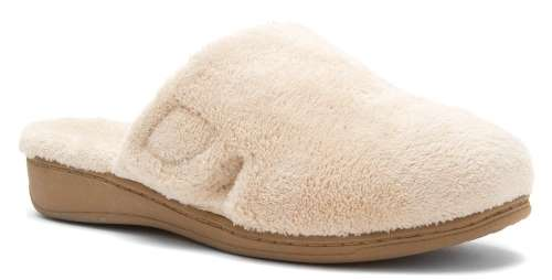 Orthaheel by Vionic Indulge Gemma Women Round Toe Canvas Slipper