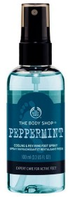 Peppermint foot spray