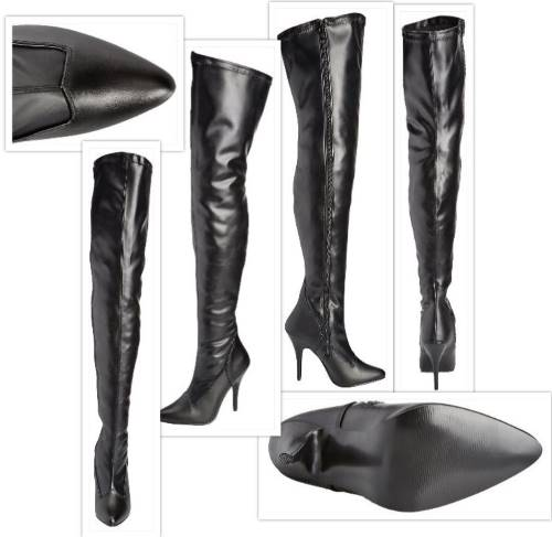 pleaser-womans seduce boot collage