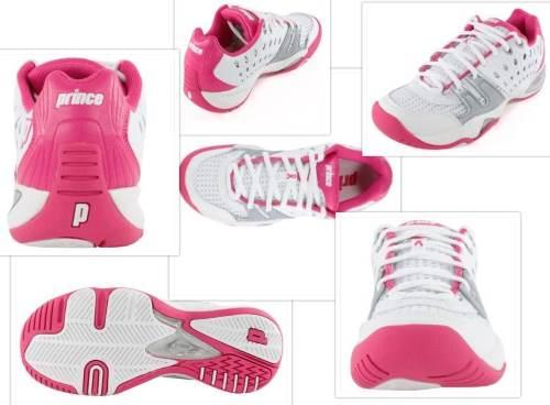 Prince tennis shoe collage