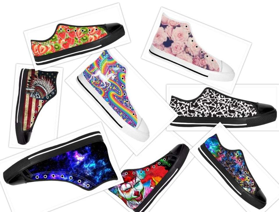 RageOn keds collage